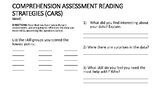 Comprehension Assessment Reading test