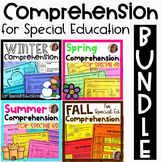 Comprehension BUNDLE for Special Ed   Special Education and Autism Resource