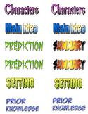 Comprehension Badges/Cards