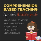 Comprehension Based Teaching Starter Pack: SPANISH