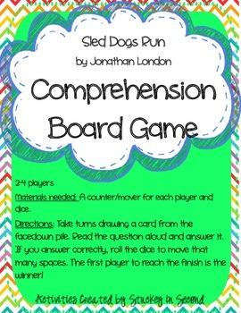 Reading Wonders Companion Grade 2 Unit 2 Comprehension Board Games