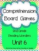Reading Wonders 2013 Companion Grade 2 Unit 6 Comprehension Board Games