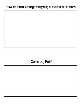 Comprehension Book for Come On, Rain
