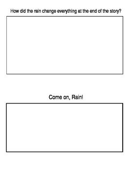 Comprehension Book for Come On, Rain