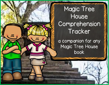 Comprehension Booklet for Any Magic Tree House Book