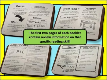Reading Skills Booklets!