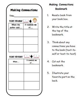 Comprehension Bookmarks for Fiction