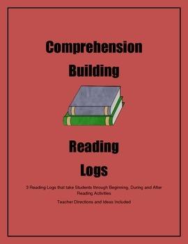 Comprehension Building Reading Logs