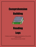 Comprehension Building Reading Logs