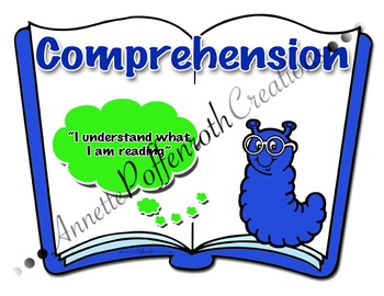 """Daily Five- """"Comprehension"""" Cafe Display Poster"""