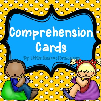 Comprehension Cards