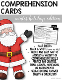 Comprehension Cards {Christmas Edition}