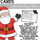 Comprehension Cards {Christmas Edition}