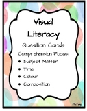 Comprehension Task Cards - Visual Literacy Question Cards