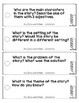 Comprehension Cards for Guided Reading and Class Discussion