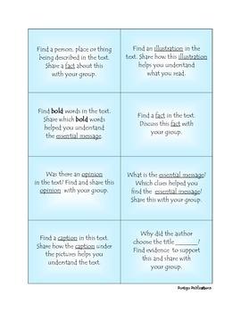Comprehension: Literature / Informational Text Centers