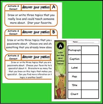 Reading Comprehension Centers Set 1