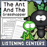 Reading Activities for Seesaw & Google - Ant and Grasshopp