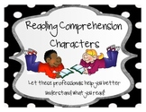 Comprehension Character Posters: Reading Support