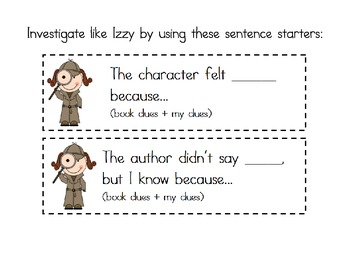 Comprehension Characters- Connecting, Summarizing, Inferring, Synthesizing!