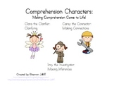 Comprehension Characters- Connecting, Summarizing, Inferri