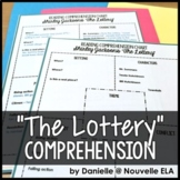 """Comprehension Chart - """"The Lottery"""" by Shirley Jackson"""