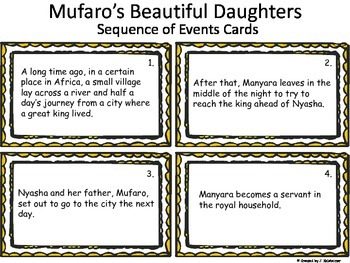 Mufaro's Beautiful Daughters (Cinderella Folktale)