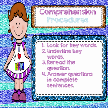 Comprehension Check Pack  (Growing Bundle)
