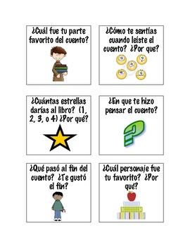 Comprehension Checks for centers (Spanish Version)