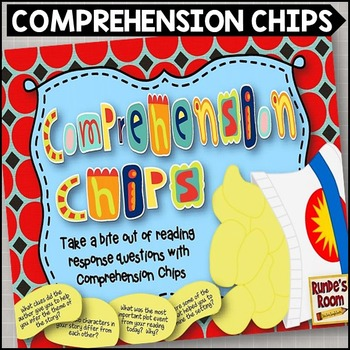 Comprehension Strategy Chips - Fun with Reading Response Questions