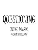 Comprehension Choice Boards Fiction/Non-Fiction