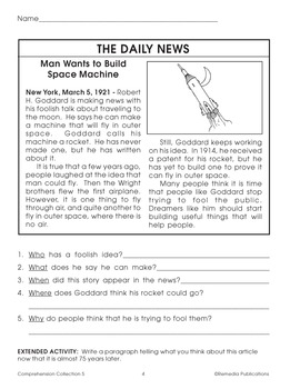 Comprehension Collection for Fifth Grade