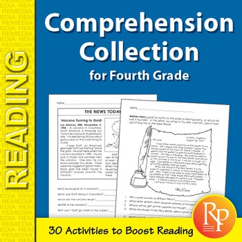 Comprehension Collection for Fourth Grade