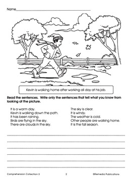 Comprehension Collection for Third Grade