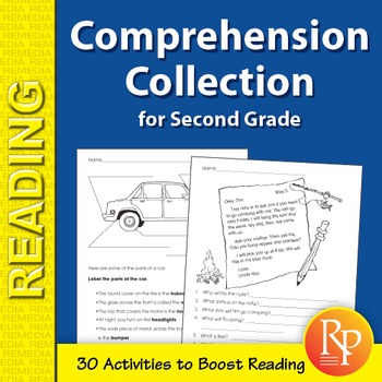 Comprehension Collection for Second Grade