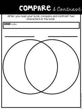 Comprehension Companion for Compare and Contrast