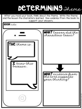 Comprehension Companion for Determining Theme