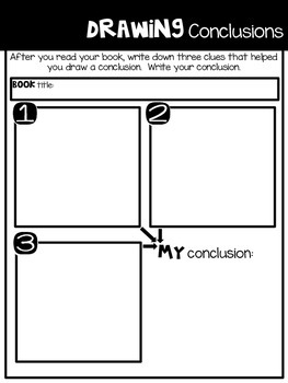 Comprehension Companion for Drawing Conclusions