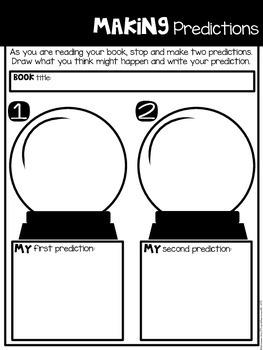Comprehension Companion for Making Predictions