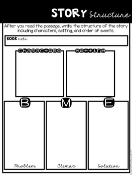 Comprehension Companion for Story Structure