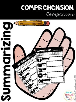 Comprehension Companion for Summarizing Fiction and Nonfiction