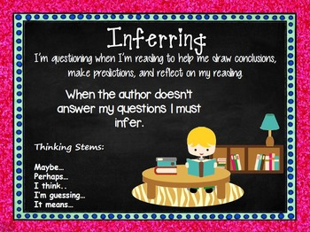 Comprehension Connections Reading Strategies Sparkle Border