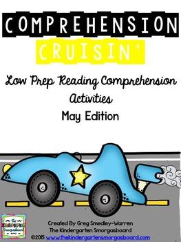 "Comprehension Cruisin""  May Read Aloud And Comprehension Creation!"