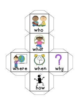 Comprehension Cube by Mrs N.