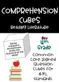 4th Grade Comprehension Cubes for Reading Literature - Com