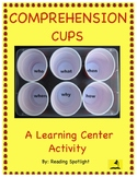 Comprehension Cups Game: A Learning Center Activity