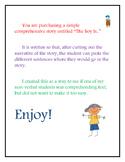 Comprehension Cut & Paste Book