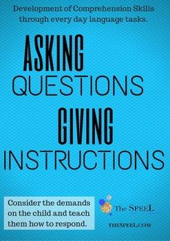 Comprehension Developmental Expectation Checklist - Speech