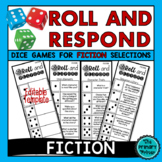 Roll and Respond Comprehension Dice Game - FICTION Edition