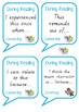 Comprehension Discussions - During Reading Sentence Starters